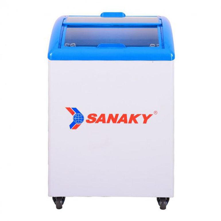 tủ đông trữ sữa sanaky
