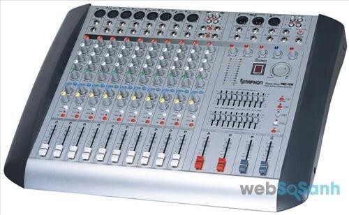 Power mixer đảm nhiệm vai trò của nhiều thiết bị