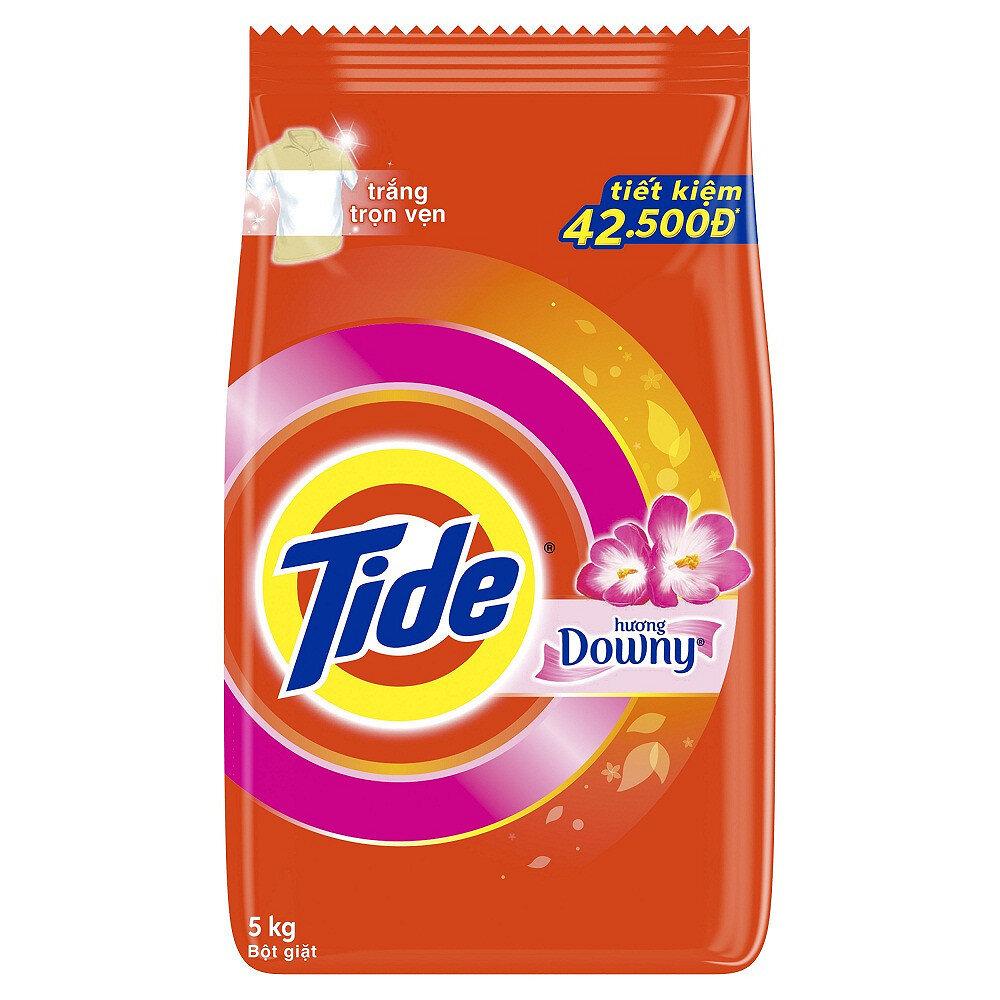 Sản phẩm Tide được nhiều bà nội trợ tin dùng với ưu điểm làm trắng vượt trội