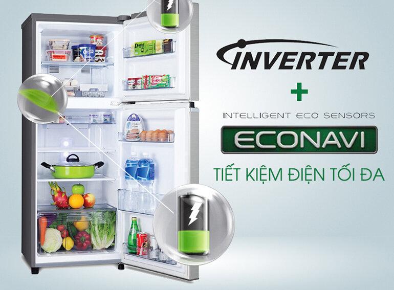 Ứng dụng công nghệ inverter và Econavi