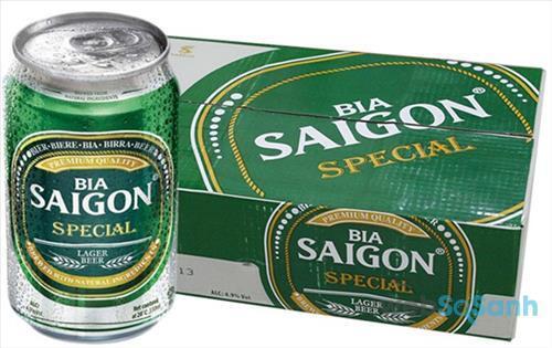 Giá bia Sài Gòn Special