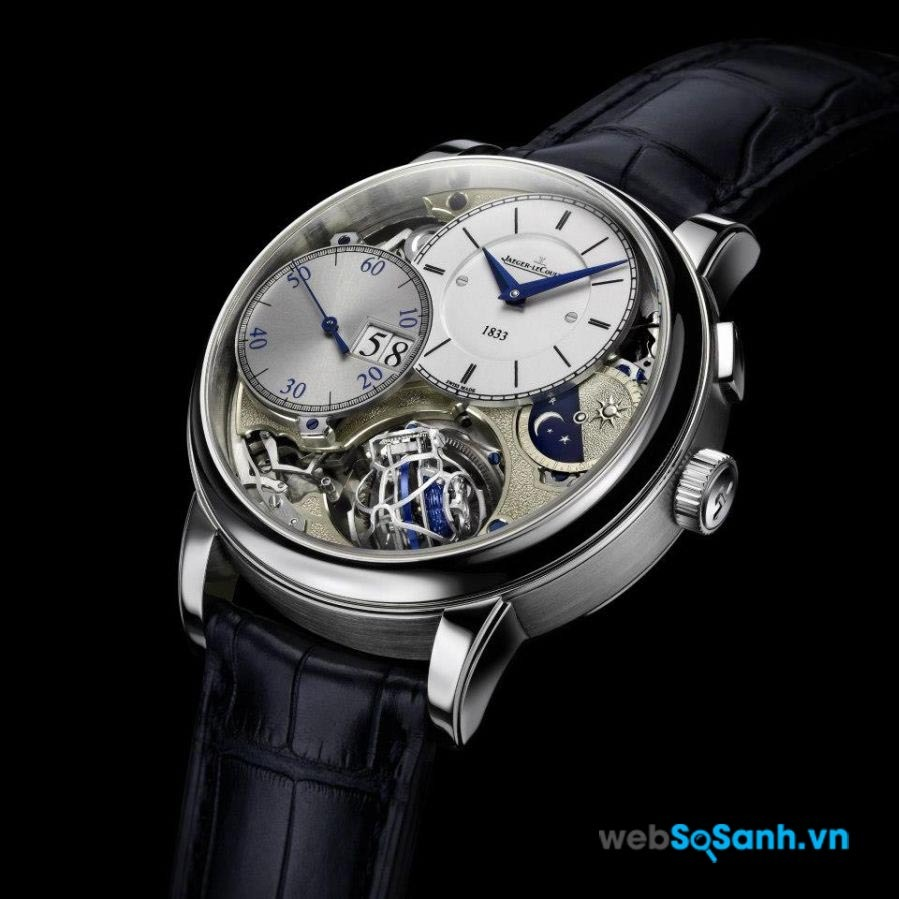 Một chiếc đồng hồ Jaeger-LeCoultre