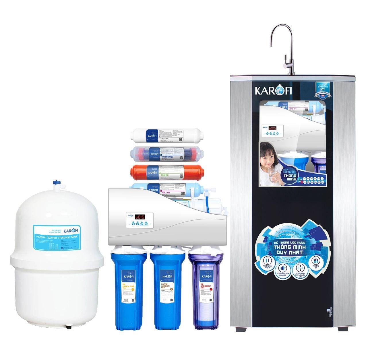 Máy lọc nước Karofi cao cấp và sang trọng