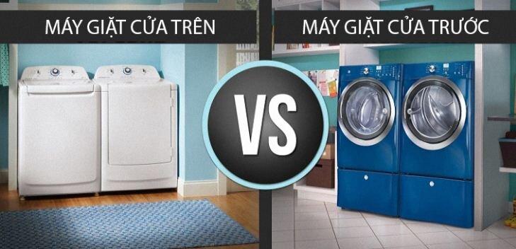 Chọn chủng loại và kích cỡ máy giặt phù hợp