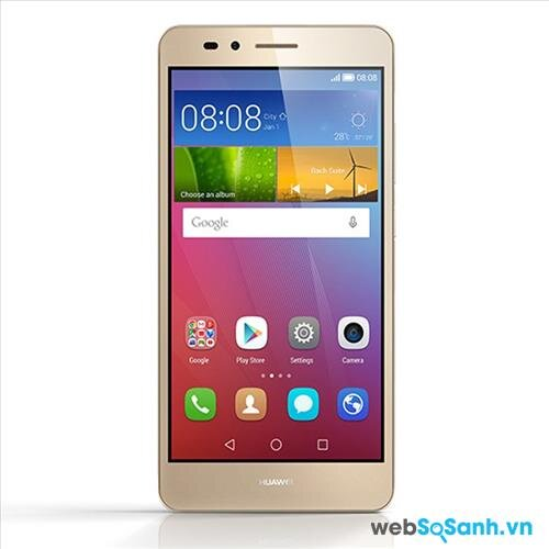 Cấu hình Huawei GR5 được trang bị vi xử lý 8 nhân Snapdragon 616 đến từ Qualcomm