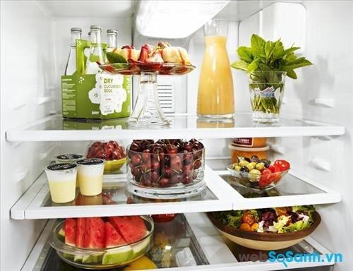 Hệ thống làm lạnh Minus - Zero đảm bảo thực phẩm luôn ở trạng thái tươi ngon
