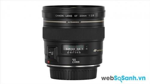 Ống kính Canon EF 20mm f/2.8 USM