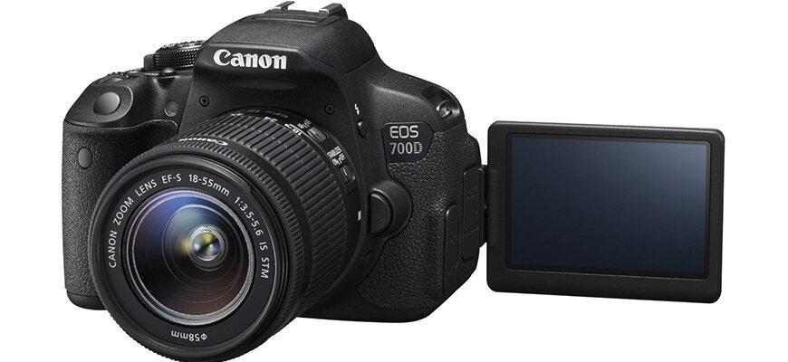 Máy ảnh chuyên nghiệp Canon 700D