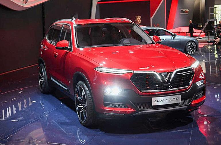 Xe ô tô Vinfast Lux SA2.0