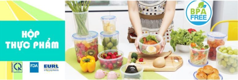 Hộp đựng thực phẩm Duy Tân Matsu bằng nhựa cao cấp