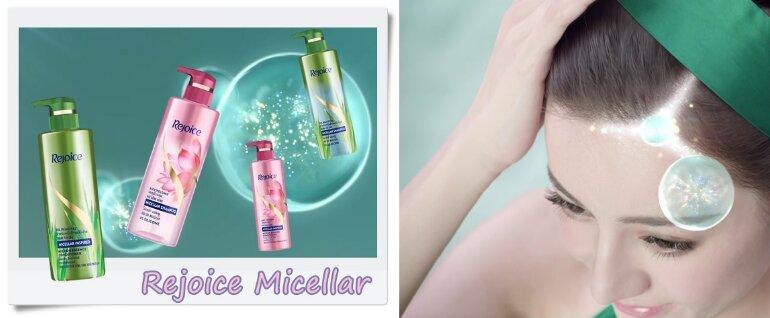 Người tiêu dùng nói gì về dầu gội Rejoice Micellar