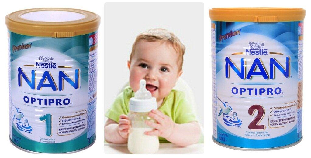 Sữa Nan - Nestle được đánh giá cao về chất lượng và độ an toàn với bé