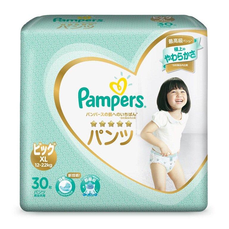 Bỉm Pampers là thương hiệu bỉm uy tín Nhật Bản