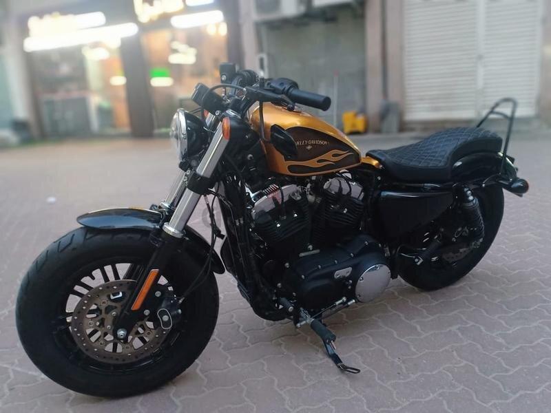 Thiết kế xe Harley Davidson 48 phong cách và cá tính
