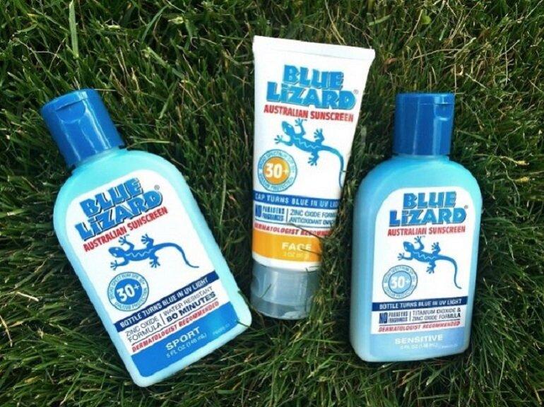 Kem chống nắng Blue Lizard Baby SPF 30+
