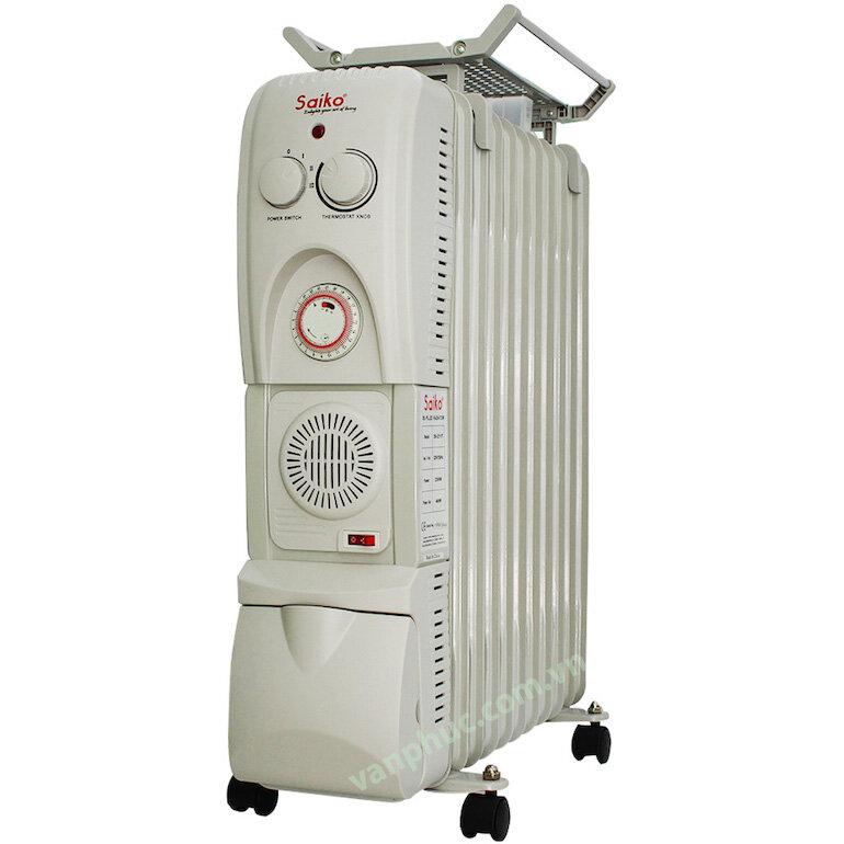 Lợi ích từ việc sử dụng máy sưởi dầu 11 thanh Saiko OR-5211T