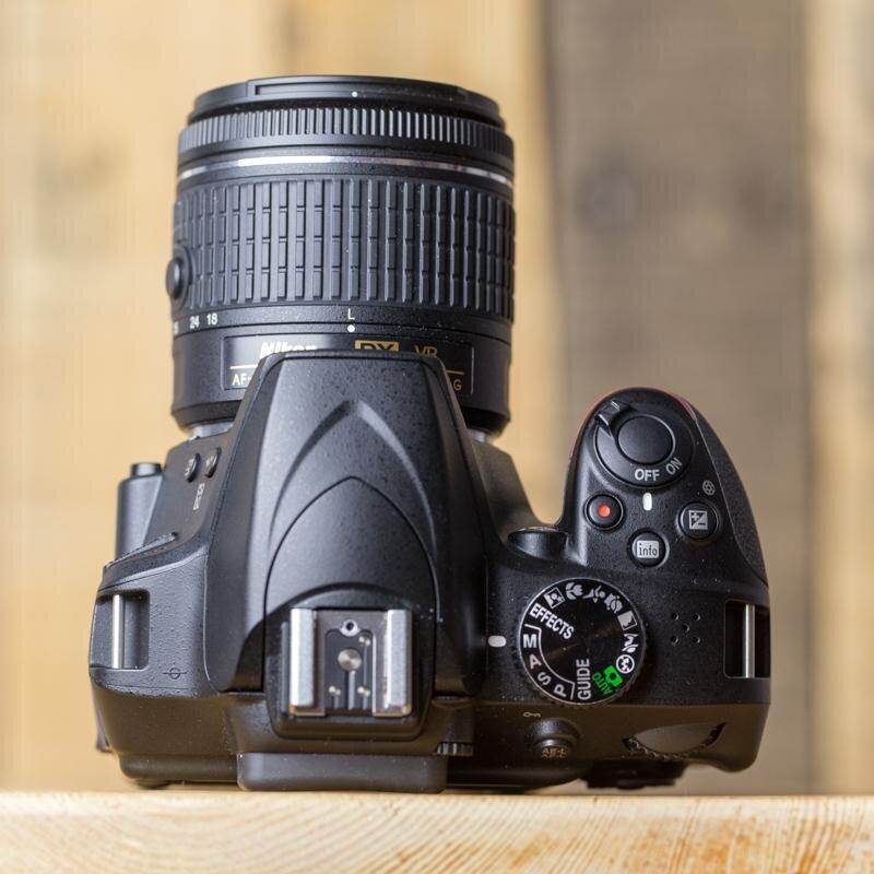 Cần điều chỉnh ống kính trước khi chụp