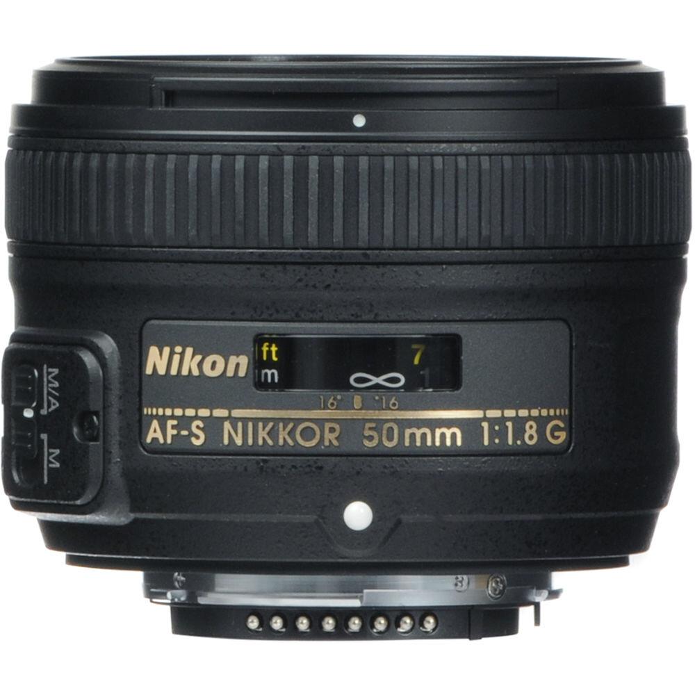 Lens nhỏ gọn Nikon 50mm f1.8G