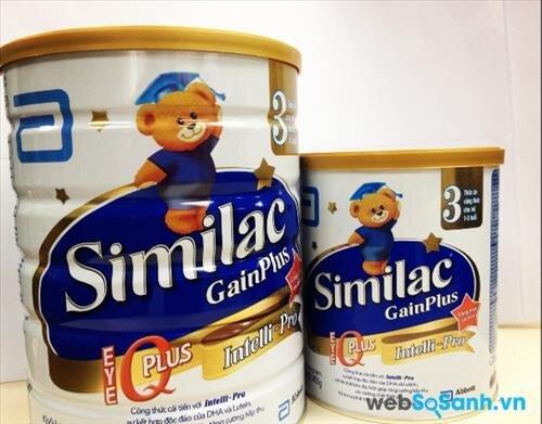 Sữa bột Abbott Similac Gain Plus IQ 3