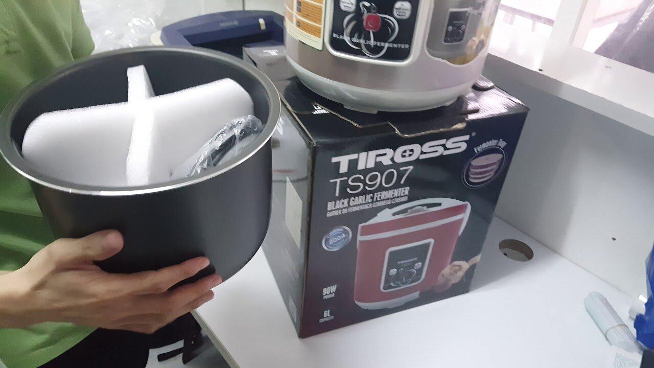So sánh máy làm tỏi đen Tiross 908 với các dòng máy thế hệ trước