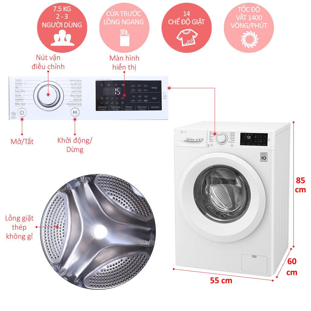 máy giặt tích hợp nhiều chức năng