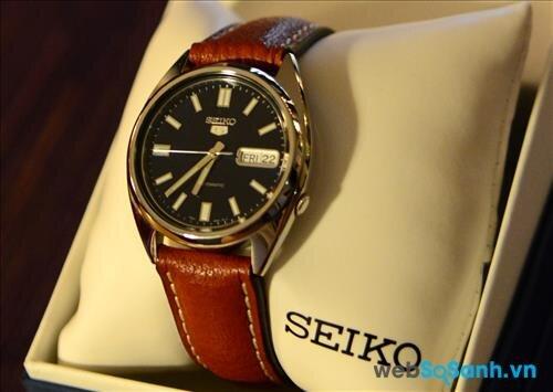 Seiko có khá nhiều mẫu đồng hồ giá rẻ