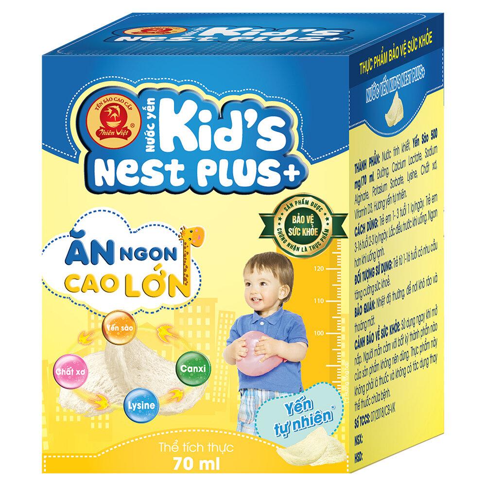 Tổ yến chưng sẵn Kids Nest Plus Yến Sào Sài Gòn Anpha