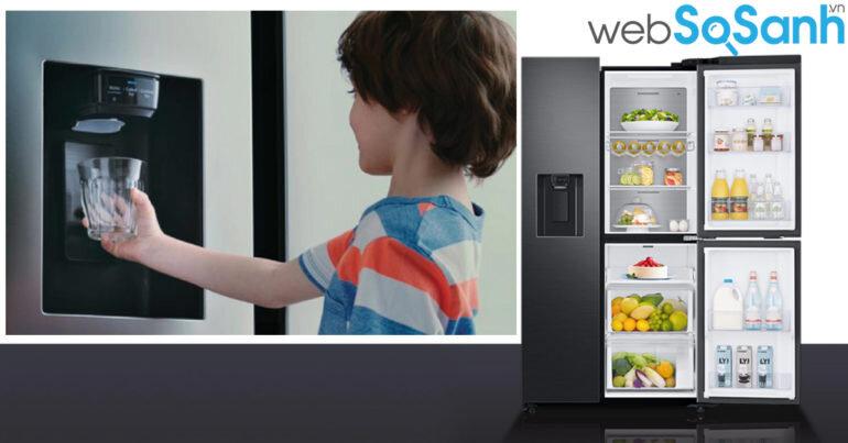 10 ưu điểm của tủ lạnh Side by Side 2019 đọc bây giờ chưa muộn