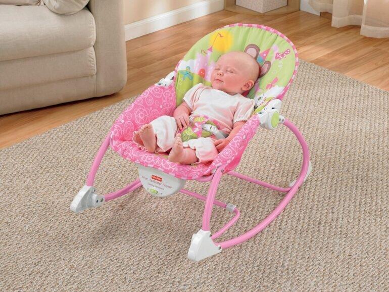 Có nên mua ghế rung cho bé không?