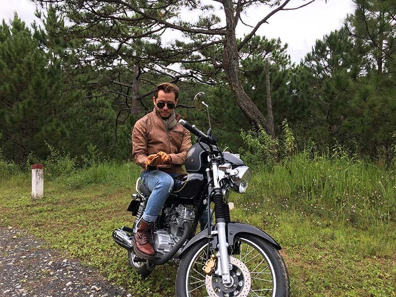 xe máy sym husky classic