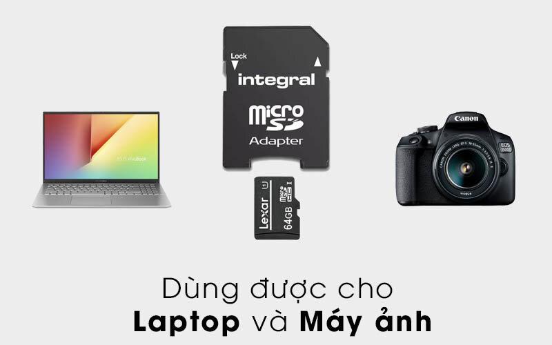 Thẻ nhớ 32GB có dùng được cho máy tính không