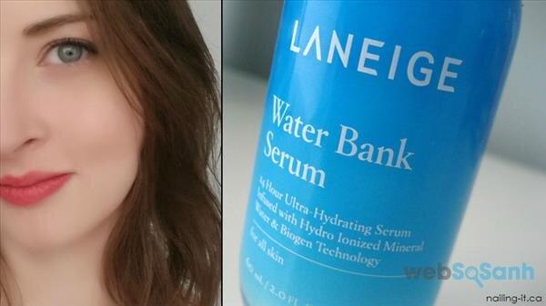 serum cấp nước cho da khô Water Bank