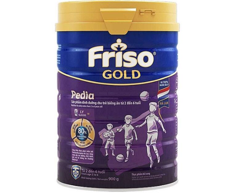 Sữa Friso Gold Pedia cho trẻ biếng ăn