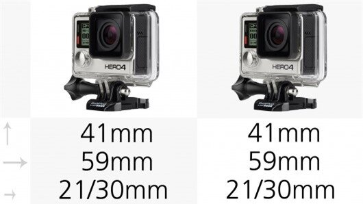 The size and shape of GoPro cameras haven't changed much in recent years and the Hero3+ an...