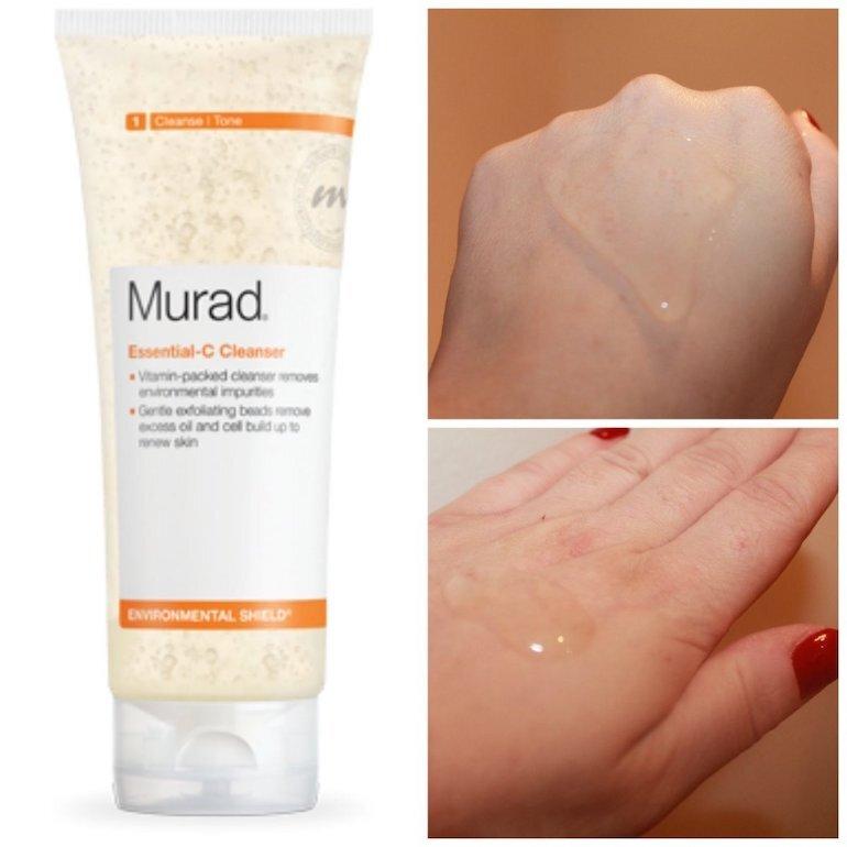 Công dụng của sữa rửa mặt Murad Essential C Cleanser