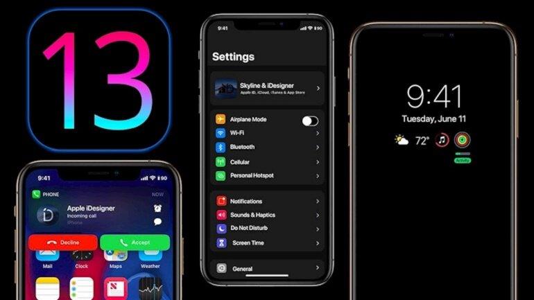 hệ điều hành iOS 13