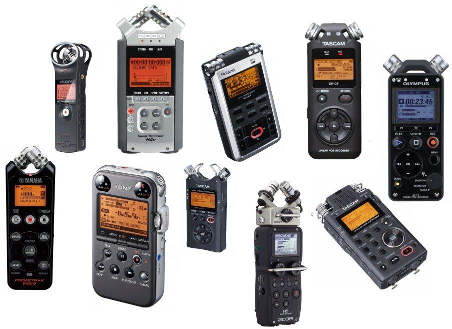 Các loại máy ghi âm chất lượng giá tốt