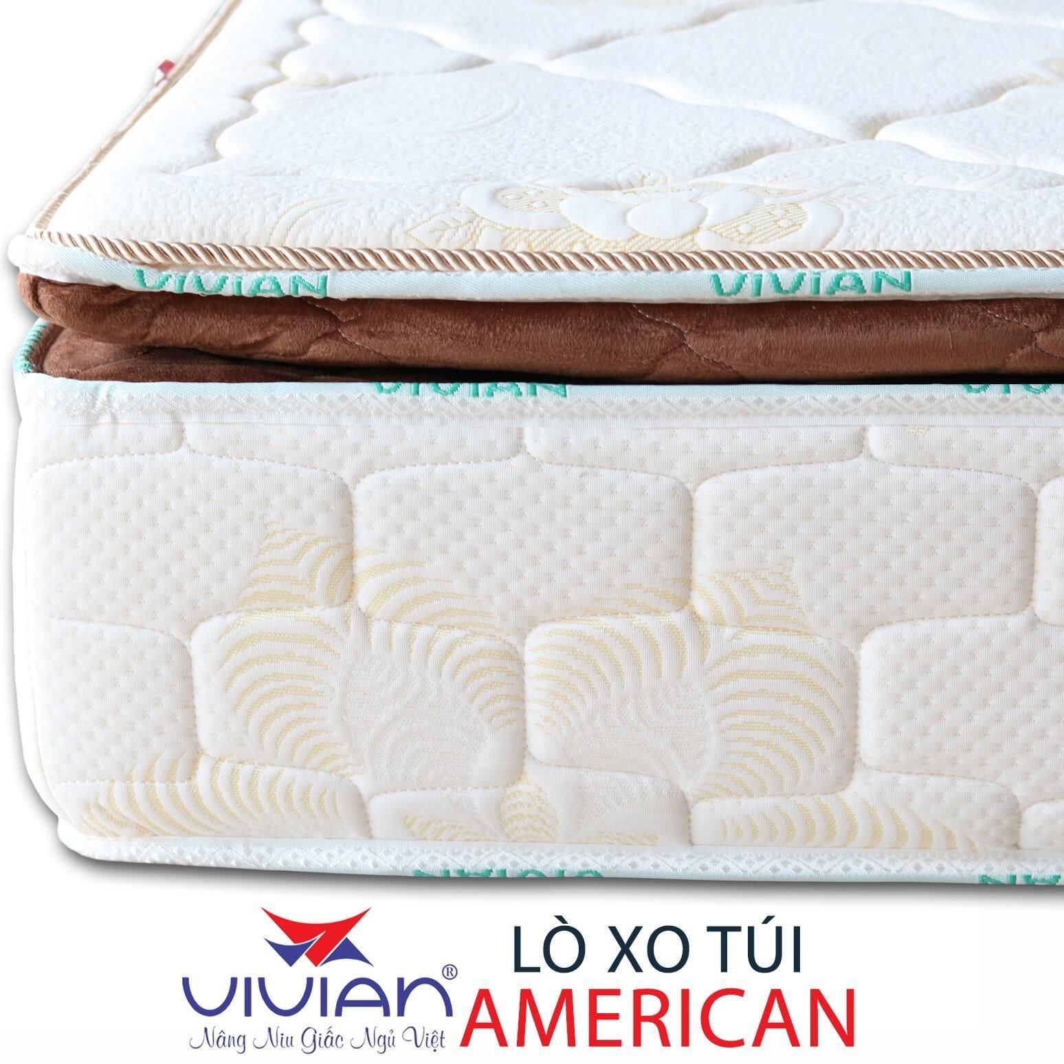 Lớp vải bọc thông thoáng của chiếc nệm Vivian mang lại cảm giác dễ chịu nhất cho người dùng