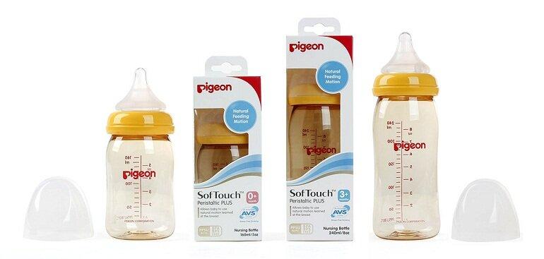 Bình sữa Pigeon xuất xứ Nhật Bản được nhiều mẹ tin dùng