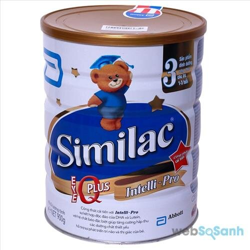Công thức pha sữa bột cho bé chuẩn