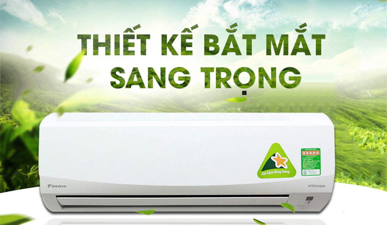 Máy lạnh Đaikin có nhiều ưu điểm về thiết kế và công nghệ