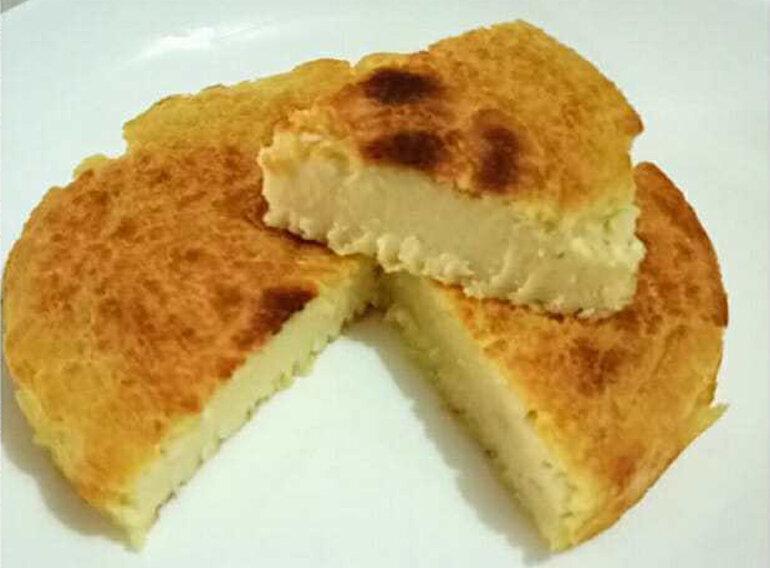 Bánh ăn dặm đậu xanh nướng cho bé