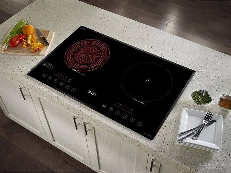 So sánh thiết kế của bếp hồng ngoại và bếp từ
