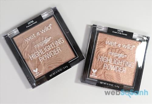 Phấn highlight Wet n Wild's MegaGlo Highlighting Powder