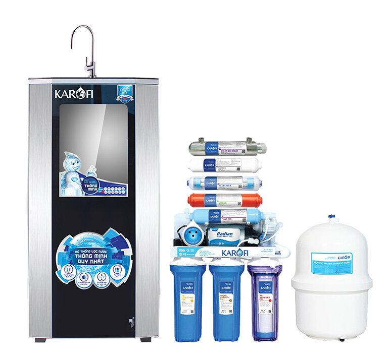 Máy lọc nước gia đình là cách xử lý nước nhiễm phèn