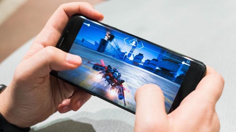 điện thoại chơi game