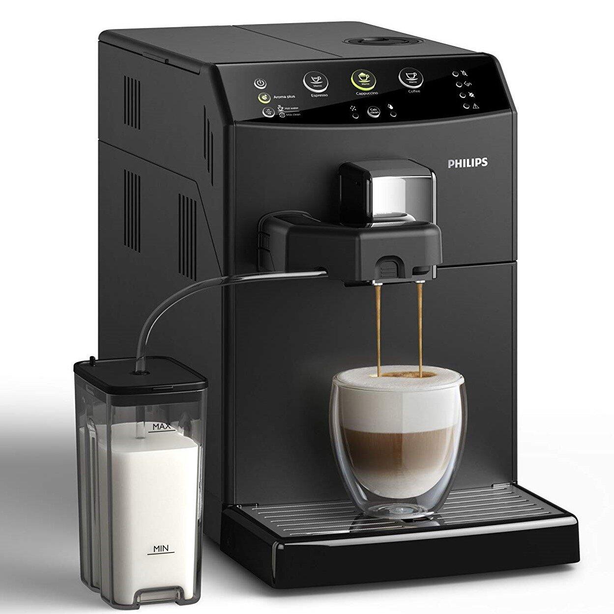 Máy pha cà phê Philips màu đen cá tính mạnh mẽ