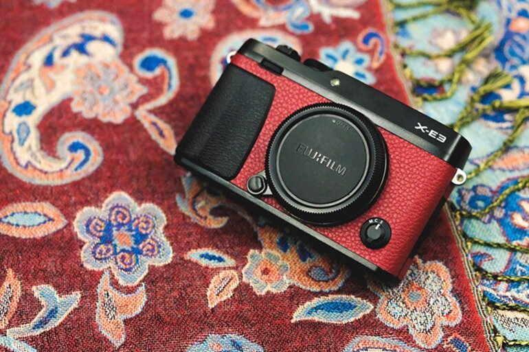 máy ảnh mirrorless fujifilm x-e3