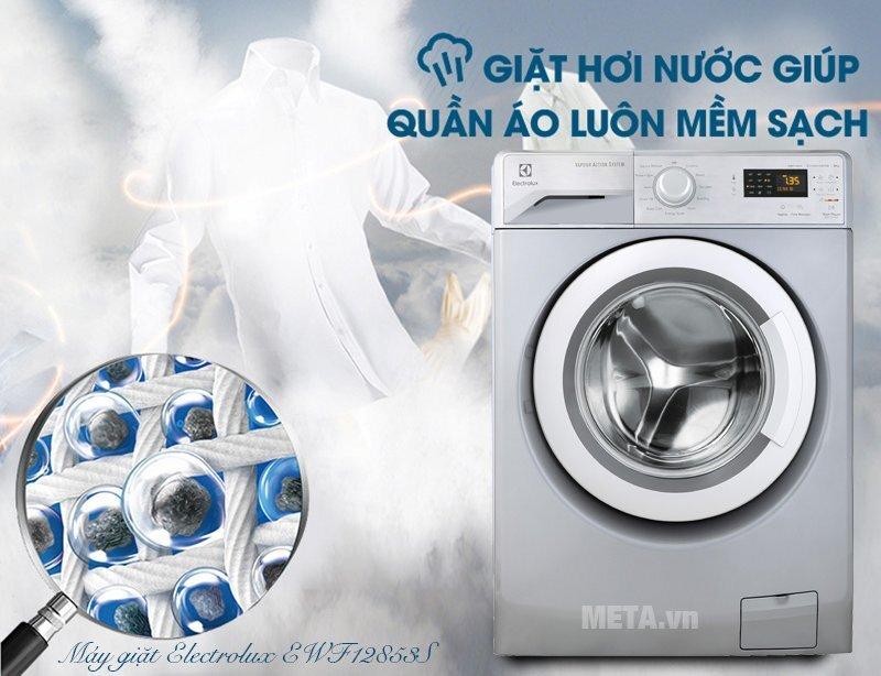 Đa dạng chế độ giặt giúp giặt sạch hiệu quả