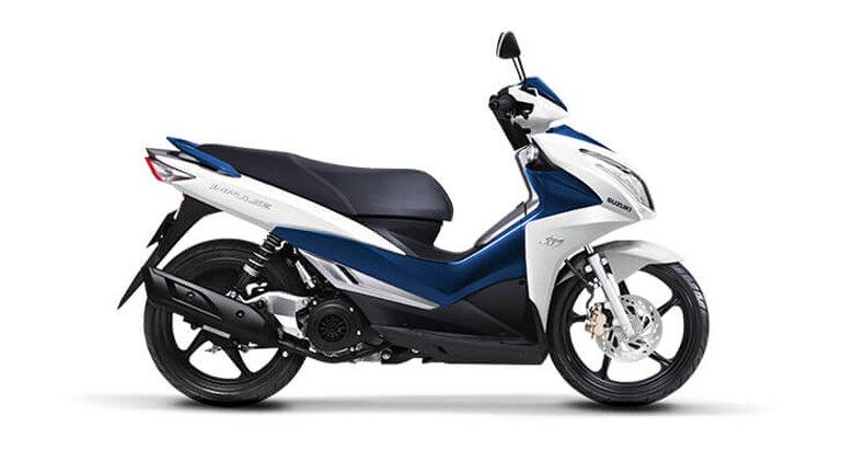 xe máy suzuki mới nhất 2019